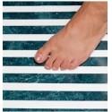 Tapis anti-glisse pour salle de bain